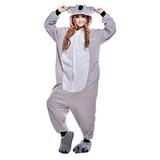 Traje De Cosplay Wotogold Animal Koala Adulto Unisex Pijama