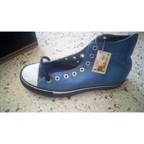 Zapatos Converse Azules De Bota Talla 40