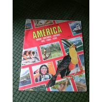 America Album De Figurinhas Antigo E Vazio ! Vecchi