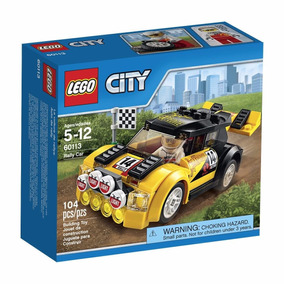 Lego City 60113 Vehiculo Auto De Rally Construccion Educando