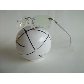 Armação Sem Aro Balgriff Flutuante Óculos P/ Grau Cor Prata