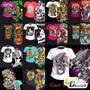Vetores Estampas Radicais Vol2 Silk Transfer Camiseta Dtg