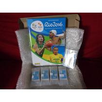 Album De Figurinhas Olimpiadas Rio 2016 Capa Dura Completo