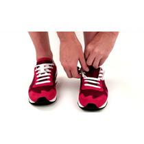 Agujetas Magneticas Para Zapatos Tenis Sin Abrochar Blancas
