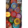 Platos Decorados Con Mandalas De Ceramica