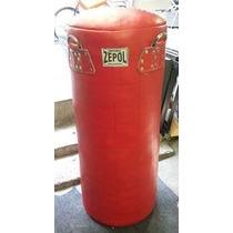 Costal Box Piel Zepol Super Reforzado 100 X 35 Cm. 45 Kilos