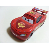 Disney Cars 2 Lightning Mcqueen Wgp Mattel Loose Francesco