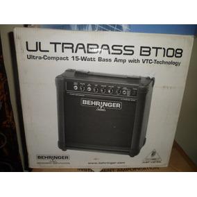 Amplificador De Bajo Electrico Behringer