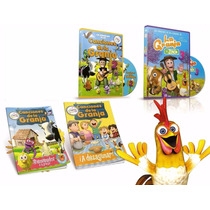 Canciones De La Granja 2 Y 3 Dvd + 2 Libros Para Colorear