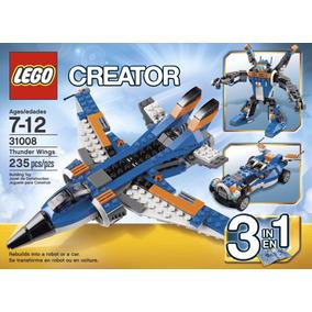Lego Creator 31008 Avión Ultrasónico Envío Gratis
