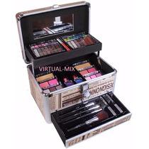 Maleta Maquiagem Grande Profissional Com 63 Itens- Promoção