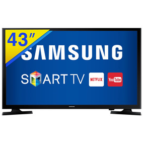 Smart Tv Led 43 Samsung Full Hd, Wifi, Hdmi E Usb - 43j5200