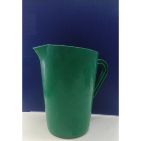 Jarra Plástica 1 Lts Litro Verde