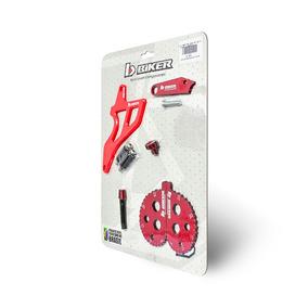 Kit Crf230 5 Peças Protetor De Pinhão Regulador Freio Biker