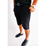 Bermuda Masculina Sarja Com Cinto Grandes Marcas Plus Size