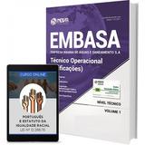 Apostila Embasa-ba 2017 - Técnico Operacional ( Edificações)