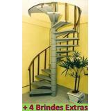 Projeto Completo Fabricação De Escadas Caracol, Frete Grátis