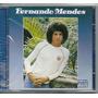 Cd Fernando Mendes - Sádico Poeta