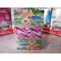 Huevo Sorpresa Tipo Kinder Mi Pequeño Pony 6pz Chocolate