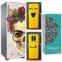 Vinilos Decorativos Heladeras Ploteos 70x170cm Gran Variedad
