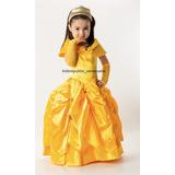 Disfraz Para Niña De Princesa Disney La Bella Kids Republic