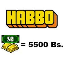 Habbo Creditos - Lingote (50 Creditos) - Habbo.es