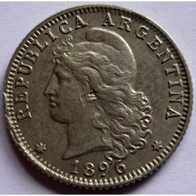 Argentina Moneda 20 Centavos 1896 ¡¡¡sin Circular !!!