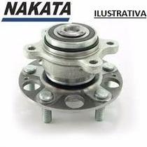 Cubo Roda De Traseiro C/ Rolamento New Civic Com Abs Nakata