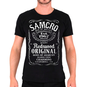 Camisa Samcro - Jack Daniel´s - Sons Of Anarchy