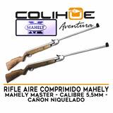 Rifle Aire Comprimido Mahely Master 5,5mm Cañon Niquelado