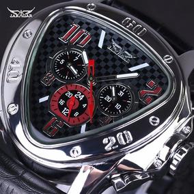Relógio De Luxo Triangular Jaraguar Para Homens Elegantes