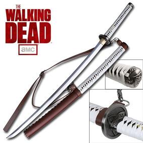 Espada Katana Michonne The Walking Dead Original Licenciada