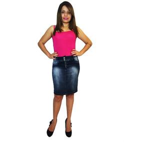 Promoção Saia Jeans Lápis Casual - Mix Jeans