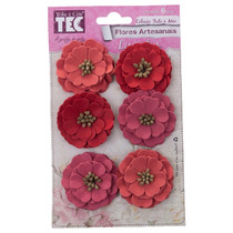 Flores Artesanais Lisiantus Rouge [va11269]