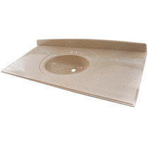Placa Lavabo Cosmo Color Granito 124x56 Fox.