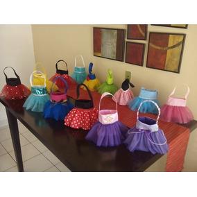 Bolsitas Dulceras De Tutú Para Piñatas De Princesas