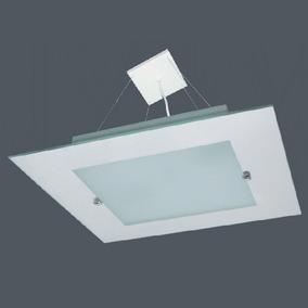Luminaria Lustre Sala Ou Quarto Espelhado 2 Lampadas