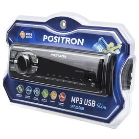 Som Automotivo Positron Auto-radio Reprodutor Multimídia Mp3