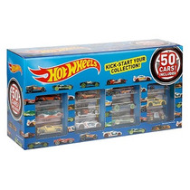 Hot Wheels Súper Pack 50 Carros