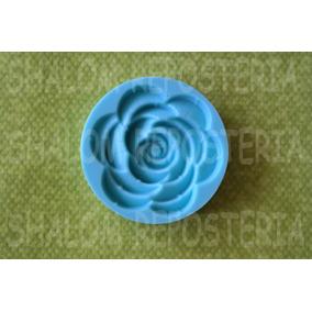 *molde De Silicon Rosa Flor Boda Pastel Cupcake Fondant *