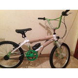 Bella Bicicleta Marca Greco Rin Aluminio 20 Tipo Cros Nueva