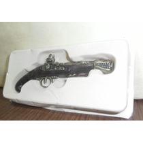 Replica De Pistola Antigua Ideal Coleccionistas Mide 13 Cm.