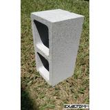 Bloco De Concreto 19x19x39 3,5 Mpa Aparente Estrutural