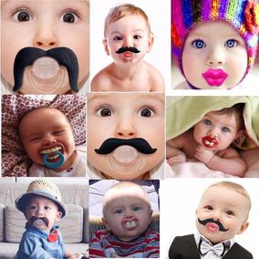 Chupeta Divertida Engraçada Moda Infantil Bebê Ortodontico