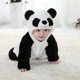 Macacão Bebê Fantasia Ursinho Panda Urso - 6 A 12 Meses