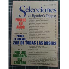Revista Selecciones Readers Digest Agosto Octubre 1982