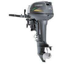Motor De Popa Yamaha 15 Hp 2t 2016 - Pronta Entrega