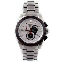 Relógio Tissot T024417a Pulseira Aço Fundo Branco