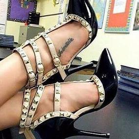 Sapato Feminino Sandálias Salto Alto Scarpin