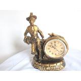 Reloj Adorno Deco Con Figura De Hombre Goddes
